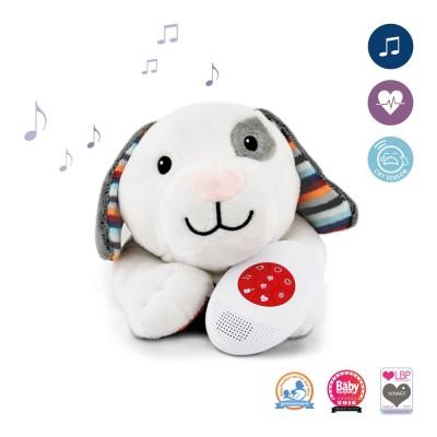 ZAZU DEX σκυλάκι με χτύπο της καρδιάς & λευκούς ήχους