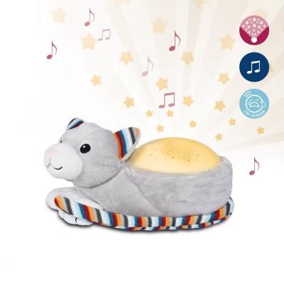 ZAZU Kiki γατούλα Προτζέκτορας με χτύπο καρδιάς, λευκό ήχο, μελωδία