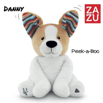 Zazu Danny Μουσικό Σκυλάκι με Κουνιστά Αυτάκια Peek-A-Boo 0m+